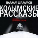 Аудиокнига Колымские рассказы